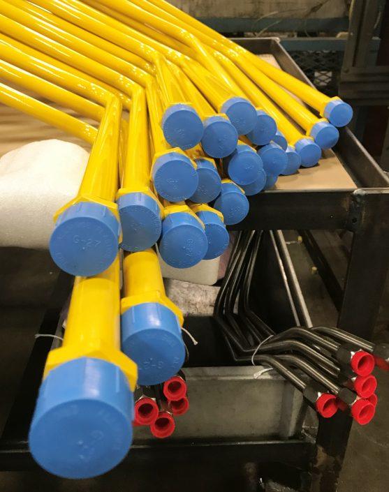 Yellow Tubes