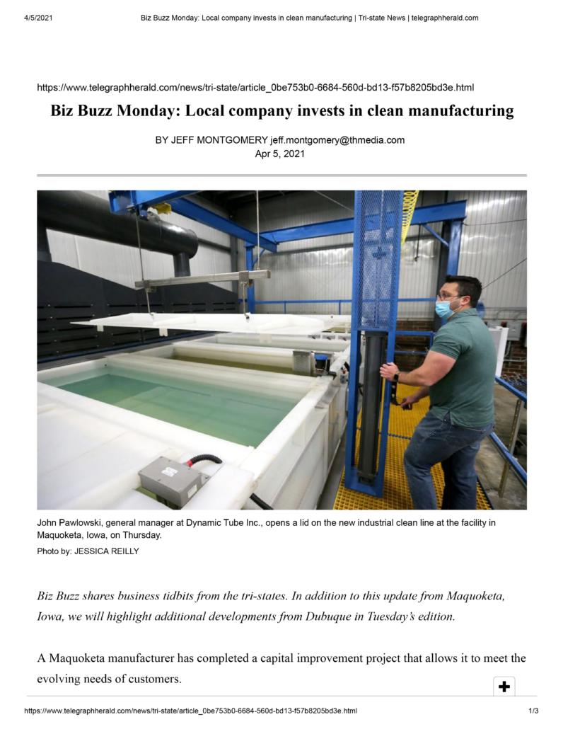 Biz-Buzz-Monday_-Local-company-invests-in-clean-manufacturing-_-Tri-state-News-_-telegraphherald-01